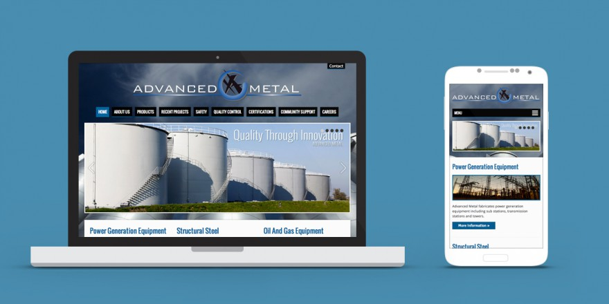 Advanced Metal Website