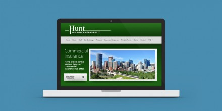 Hunt Insurance Website