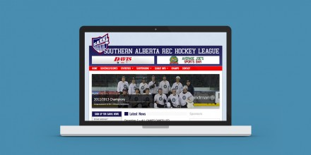 Southern Alberta Rec Hockey League Website