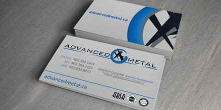 Advanced Metal Business Cards