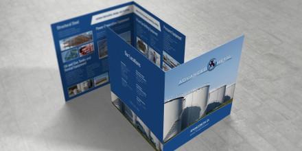 Advanced Metal Bi-Fold Brochure