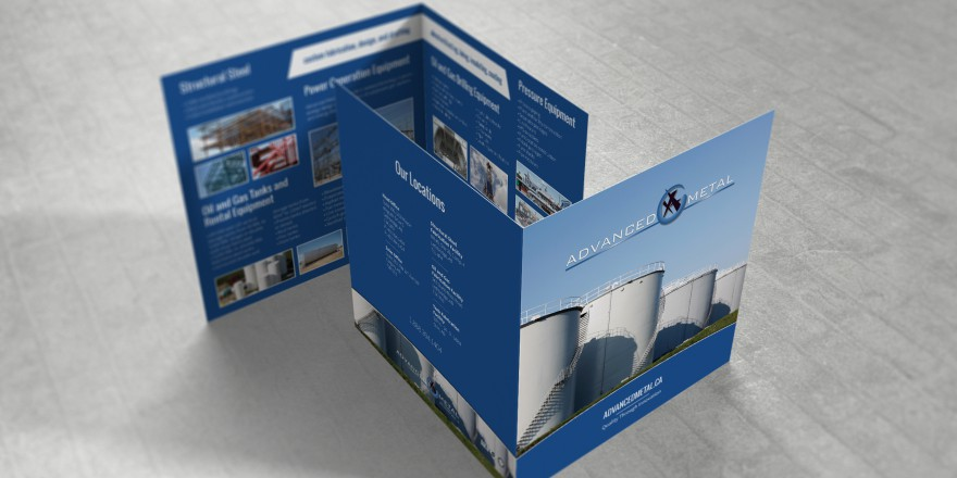 Advanced Metal Bi-Fold Brochure