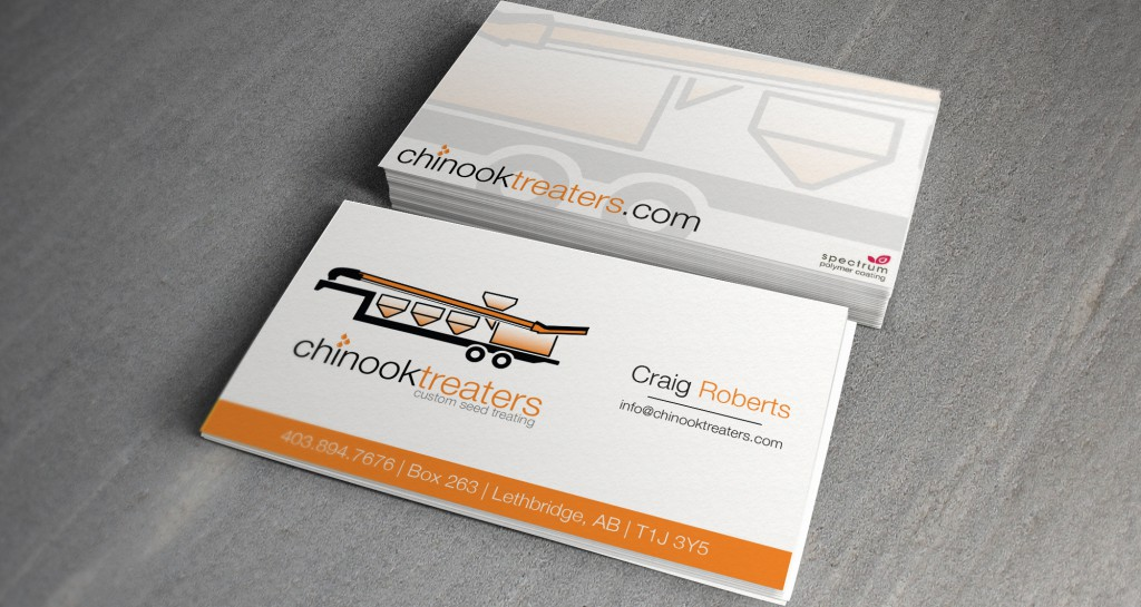 Chinook Treaters Business Cards • Grizzly Media