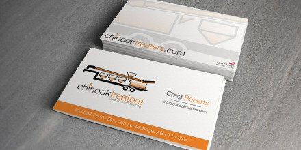 Chinook Treaters Business Cards