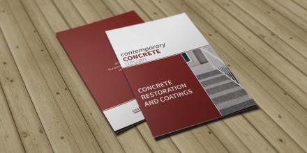 Contemporary Concrete Design Brochure