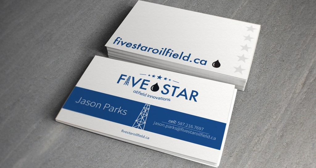 Five Star Oilfield Innovations Business Cards • Grizzly Media