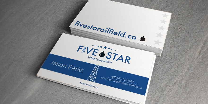 Five Star Oilfield Innovations Business Card