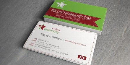 Polllux Technology Business Cards