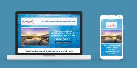 Candu Automation & Control Solutions Web Design