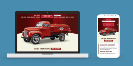 eCommerce Website Lethbridge Old International Trucks