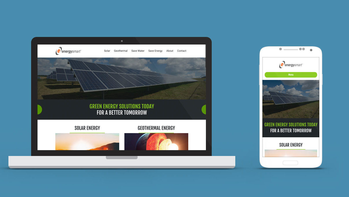 Energy Smart Website Design